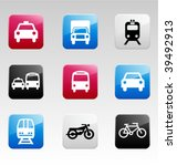 icon set color  2 | Shutterstock .eps vector #39492913