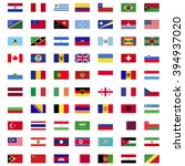 flags of world countries | Shutterstock .eps vector #394937020