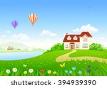 vector cartoon illustration of... | Shutterstock .eps vector #394939390