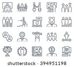 corporate business icon set...
