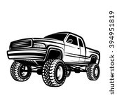 truck 4x4 pickup | Shutterstock .eps vector #394951819
