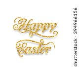 illustration abstract golden... | Shutterstock .eps vector #394966156