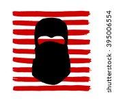 terrorism social poster in...   Shutterstock .eps vector #395006554