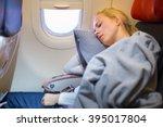tired blonde casual caucasian...   Shutterstock . vector #395017804