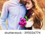 happy young couple  | Shutterstock . vector #395026774
