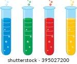 test tubes | Shutterstock .eps vector #395027200