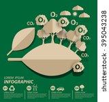 oxygen. save world vector... | Shutterstock .eps vector #395043238