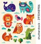 perfect vector set of... | Shutterstock .eps vector #395048986