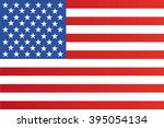 flag of the united states of... | Shutterstock .eps vector #395054134