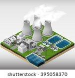 vector isometric illustration... | Shutterstock .eps vector #395058370