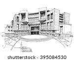 touristic complex  hotel  2 | Shutterstock . vector #395084530