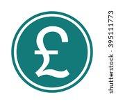 british pound sterling symbol | Shutterstock .eps vector #395111773