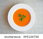 Vegetable Cream Soup With...