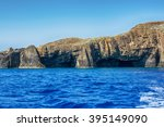 the glaronissia islets  milos... | Shutterstock . vector #395149090