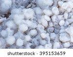 Dead Sea Salt Lumps Close Up  ...