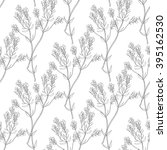 seamless  hand draw pattern... | Shutterstock .eps vector #395162530