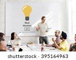 new version software install... | Shutterstock . vector #395164963