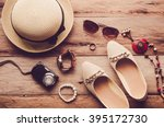 hats  shoes and accessories to... | Shutterstock . vector #395172730