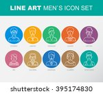 modern thin contour line icons... | Shutterstock .eps vector #395174830
