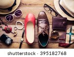 clothing and accessories for... | Shutterstock . vector #395182768