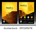 brochure template design.... | Shutterstock .eps vector #395185078