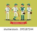 cool vector illustration on... | Shutterstock .eps vector #395187244