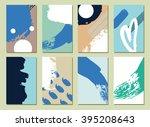 set of  modern hipster  hand... | Shutterstock . vector #395208643