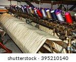 old textile machine | Shutterstock . vector #395210140