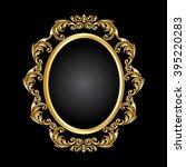vector vintage border frame... | Shutterstock .eps vector #395220283