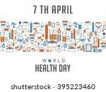 vector illustration of world... | Shutterstock .eps vector #395223460