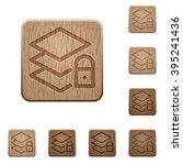 set of carved wooden locked...