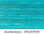 Section Of Turquoise Wood...