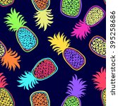colorful seamless pattern of... | Shutterstock .eps vector #395258686
