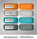 information infographic... | Shutterstock .eps vector #395259424