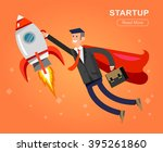 vector detailed character... | Shutterstock .eps vector #395261860