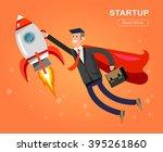 vector detailed character... | Shutterstock .eps vector #395261860
