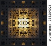 Menger Sponge Background. 3d...