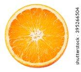 Orange Fruit. Round Slice...