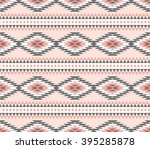 vector seamless decorative... | Shutterstock .eps vector #395285878