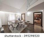 luxury apartment interior | Shutterstock . vector #395298520