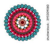 vector mandala. abstract vector ...   Shutterstock .eps vector #395309080