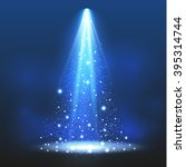 spotlight. vector illustration | Shutterstock .eps vector #395314744