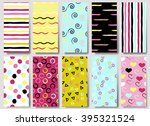 10 cute different vector... | Shutterstock .eps vector #395321524
