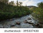 severe beauty of northern... | Shutterstock . vector #395337430