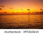 Twilight Sunset With Sea