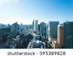 cityscape japan osaka   Shutterstock . vector #395389828