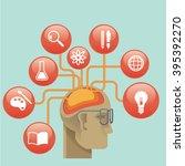 illustration and design concept ... | Shutterstock .eps vector #395392270