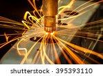 industrial welding automotive... | Shutterstock . vector #395393110