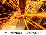 industrial welding automotive... | Shutterstock . vector #395393113