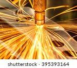 spot welding industrial... | Shutterstock . vector #395393164